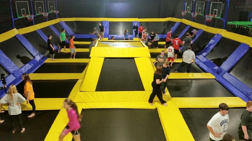 trampoline max air