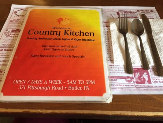 Country Kitchen 371 Pittsburgh Rd Butler Pa Mapquest