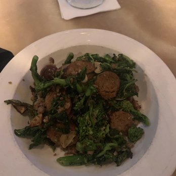 Photo of Salute - Hartford, CT, United States. Broccoli Rabe with Sausage