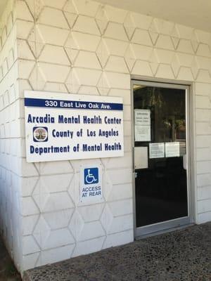 Arcadia Mental Health Center 330 E Live Oak Ave Arcadia Ca County Government Mapquest