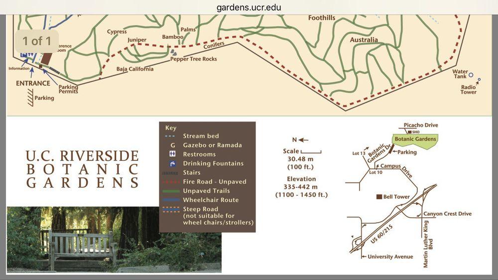 UCR Botanic Gardens - 513 Photos & 101 Reviews - Botanical ...