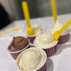 Saffron & Rose Ice Cream