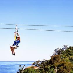 Ziplining in orange county