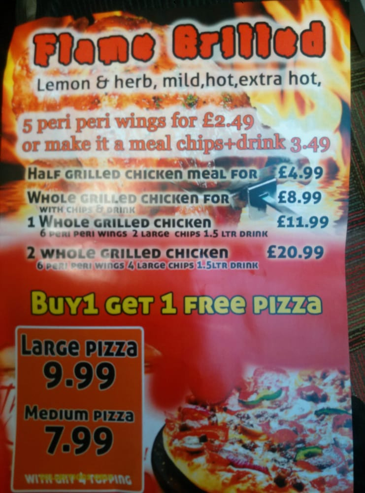 Chicken Pizza Palace Takeaway Fast Food 332