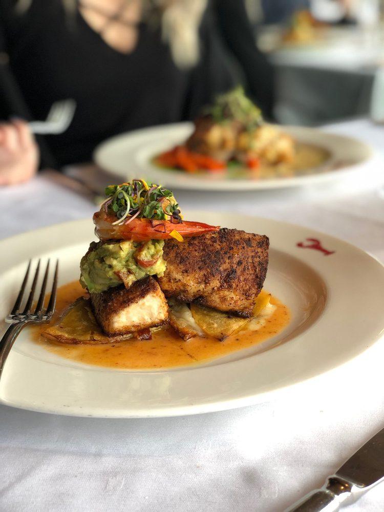 Grilled Atlantic Swordfish @ Joe Muer Seafood