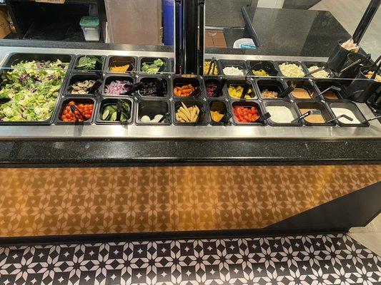 Round Table 7943 Greenback Ln, Round Table Salad Bar