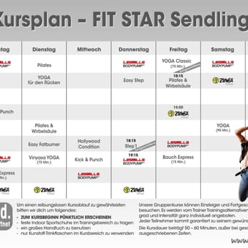 fit star kursplan