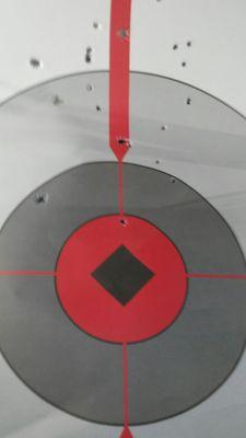 Photo of SWAT Gun Club - Honolulu, HI, US. My paper target