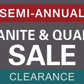 Annual Clearance SALEs! Kitchen Cabinets, Quartz, Granite ...
