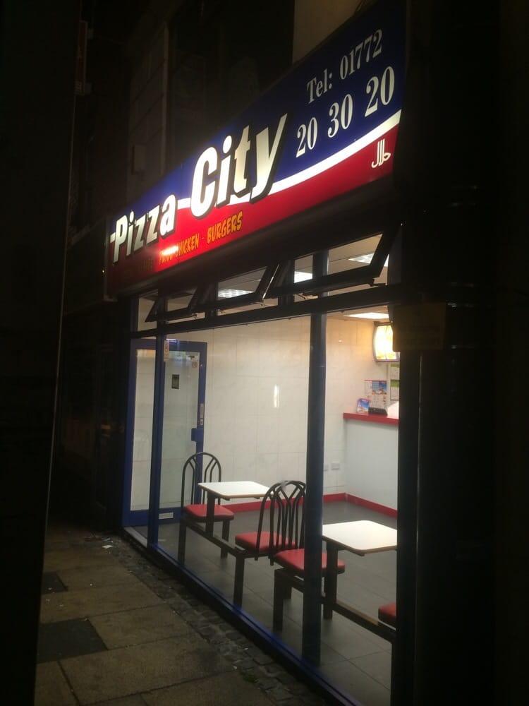 Pizza City Pizza 100 Friargate Preston Lancashire