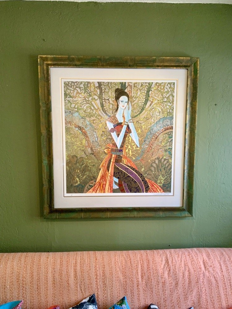 Ting Shao Kuang limited edition unframed serigraph