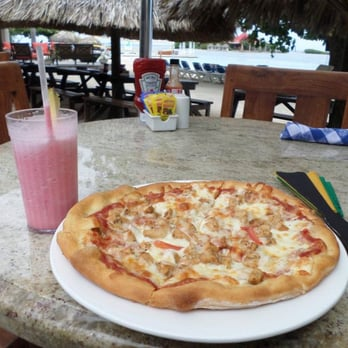 Jerk Chicken Pizza And A Jamaican Smile At Sandals Royal