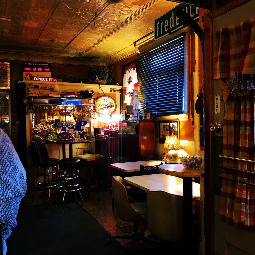 Yacht Club Beer: The Bar Area