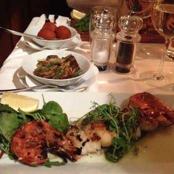 den gamle och havet restaurang recension