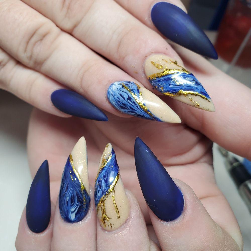 Photo of Aroma Nail Spa - Las Vegas, NV, United States. Nails by Tina