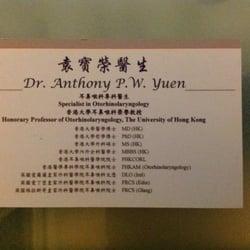 Dr Anothoy Po Wing Yuen
