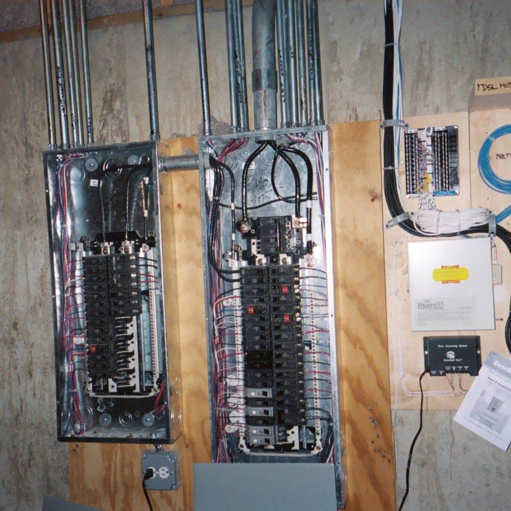 Main 200 amp 40 circuit panel with 100 amp sub- panel. - Yelp