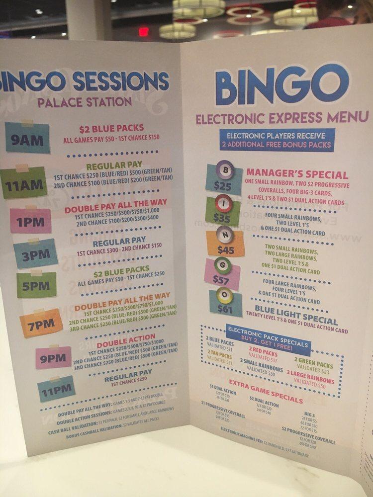 station casinos bingo
