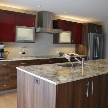 contemporary kitchen, double oven, stainless steel, custom ...