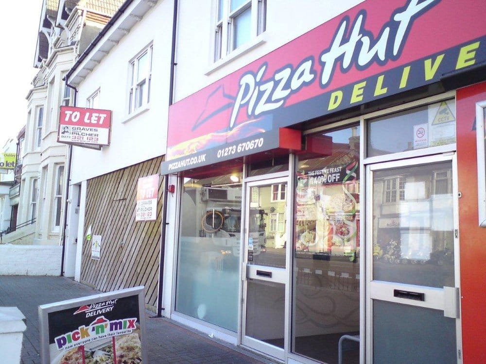 Pizza Hut Pizza 132 135 Lewes Rd Brighton