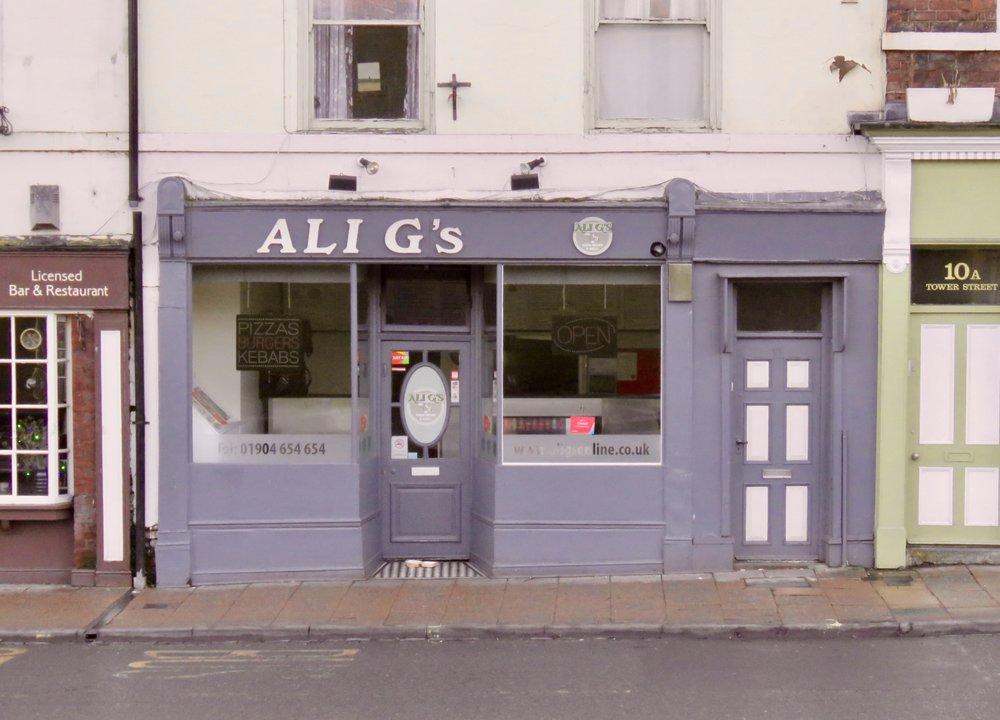 Ali Gs Pizza House Takeaway Fast Food 11 Tower Street