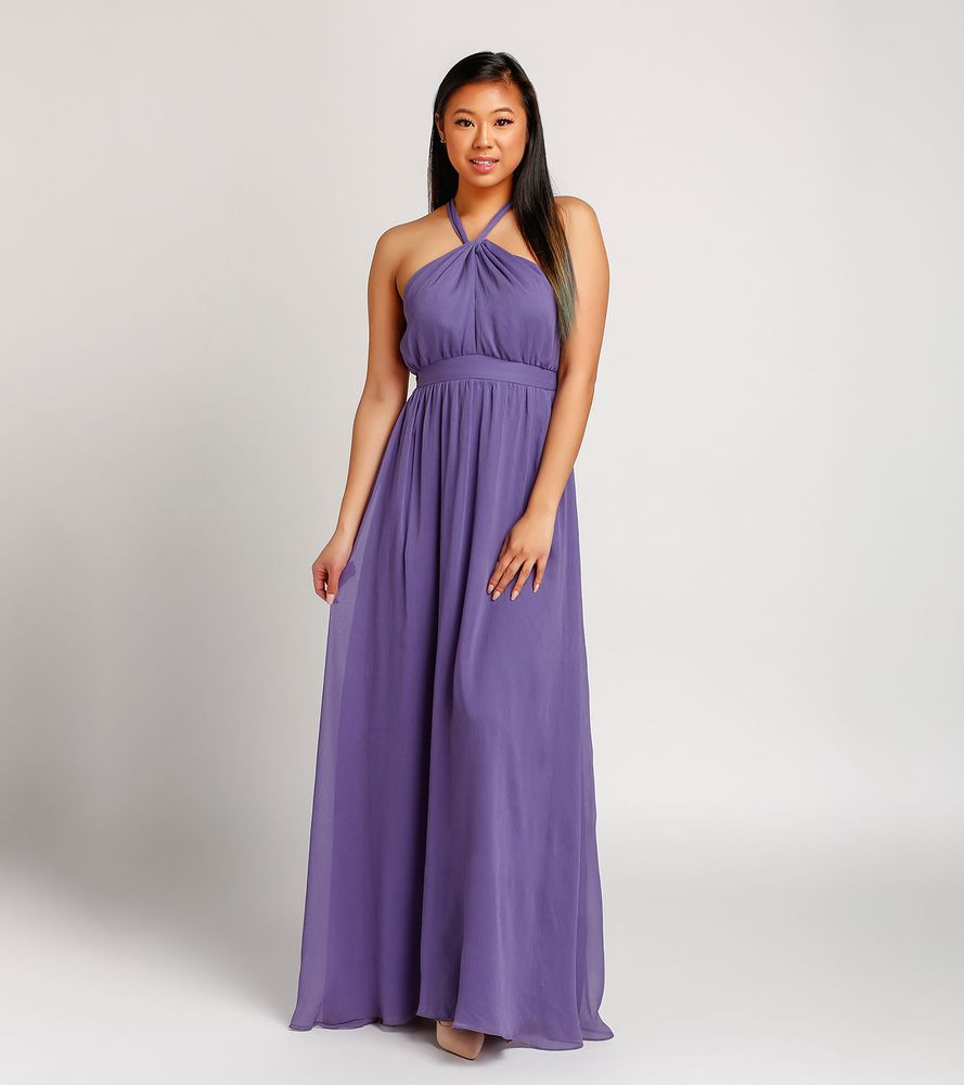 Purple Bridesmaid Dresses Or