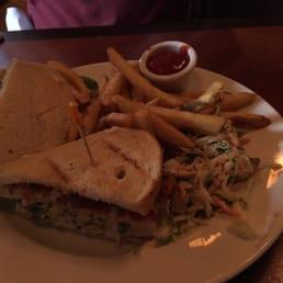 Blue Crab Club Sandwich