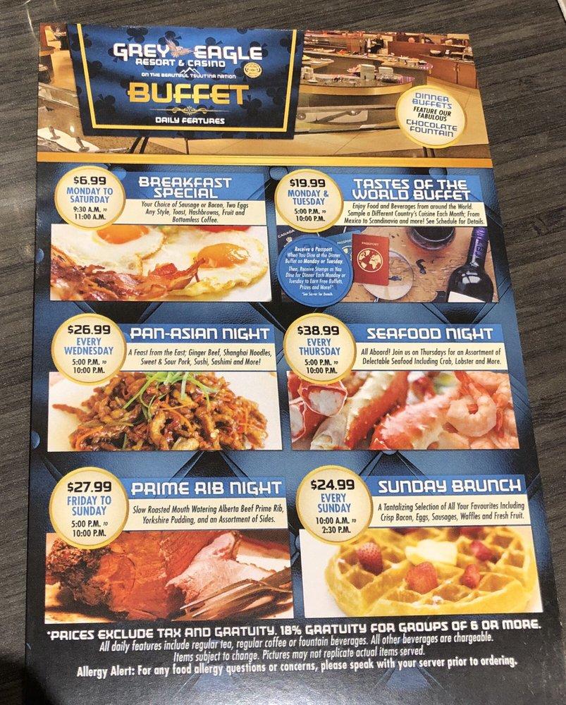 Grey eagle casino buffet coupons emerald casino activities