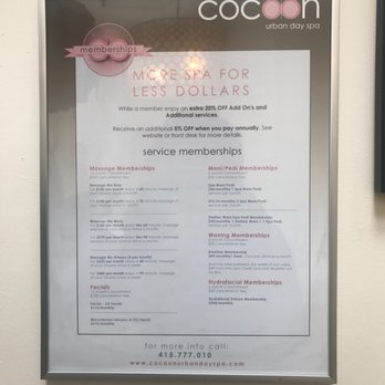 Cocoon Urban Day Spa 196 Photos 863 Reviews Massage 330