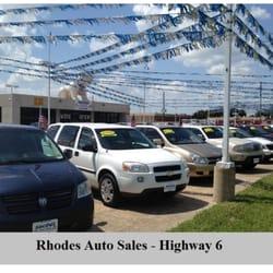 Houston Used Auto Sales >> Rhodes Auto Sales Car Dealers 8710 Hwy 6 S Houston Tx