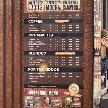 Copper Mountain Coffee Coffee Tea 101 Whitewater Pl Polson Mt Phone Number