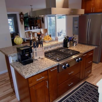 Remodeled Kitchen Island With