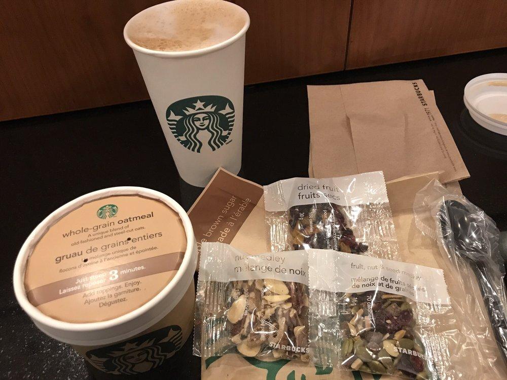 Grande skinny vanilla latte with almond