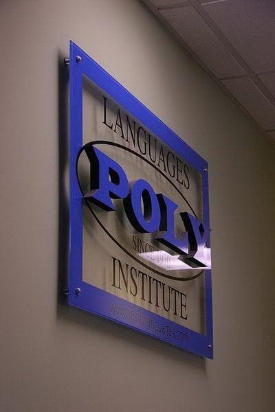 Poly Lang. Sign