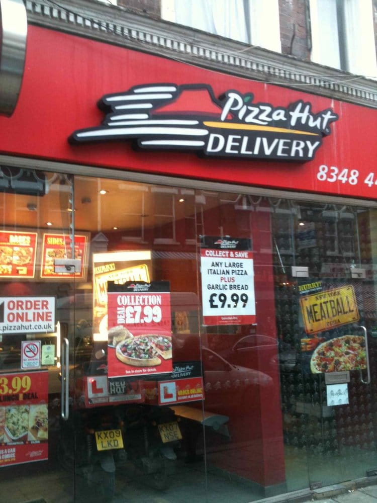 Pizza Hut Pizza 34 Topsfield Parade Crouch End London