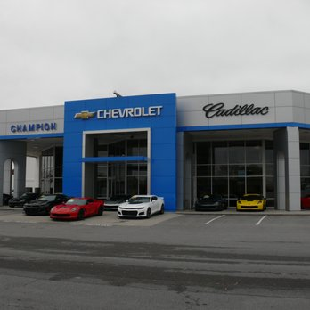 Champion Chevrolet Cadillac Car Dealers 3606 Bristol Hwy Johnson City Tn Phone Number