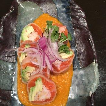 Photo of Hanami Sushi - Sherman Oaks, CA, United States. Daikon Salmon Roll
