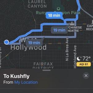 Photo of Kushfly - Los Angeles, CA, United States. I think it's self explanatory definitely not 2 1/2 hours