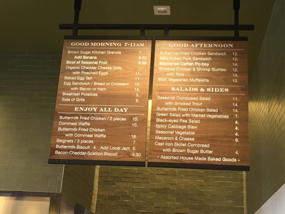 Menu board - Yelp