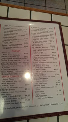 Meme S Mexican Restaurant 942 E Pierce St Luling Tx Coffee Tea Mapquest