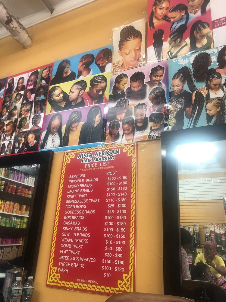 Aissa African Hair Braiding Hair Salons 3902 White Plains Rd Williamsbridge Bronx Ny Phone Number Yelp
