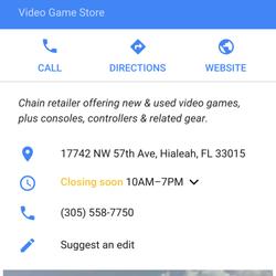 Videos And Video Game Rental In Hialeah Yelp