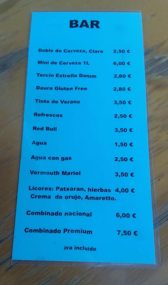 Precios En Terraza 1 El Café No Aparece Pero Son 2 Yelp