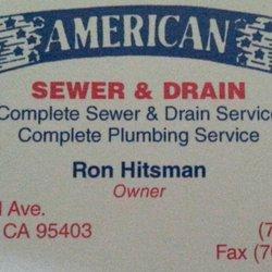 american sewer drain