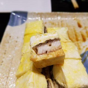 Photo of Toku Unagi & Sushi - West Hollywood, CA, United States. Kabayaki Eel Omelet ( Close up)