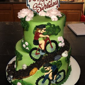 Photo of Shelby Lynns Cake Shoppe - Springdale, AR, United States. Artistic birthday cake