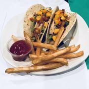 Blackened Baja Fish Tacos Menu Bonefish Grill Las Vegas