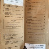 Photo of Flour + Water Pizzeria - San Francisco, CA, United States. Menu as of 9/19/19