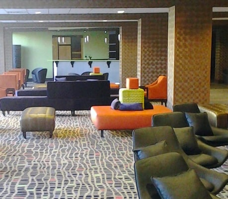 Photo of Days Inn Downtown / at the Stadium - Nashville, TN, US. New lobby. Entire hotel has completed a $5 million dollar renovation.