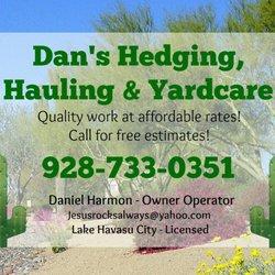 Dan S Hedging Hauling Yardcare 22